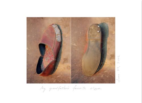 My grandfather's slipper