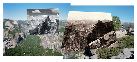 Glacier Point mashup