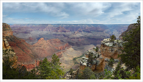 Overlooking the South Rim