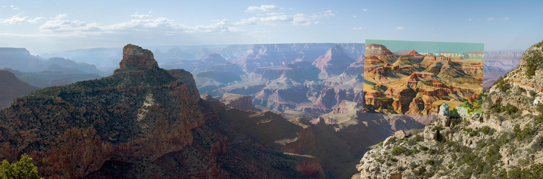 Moran Point, South Rim of the Grand Canyon, Arizona