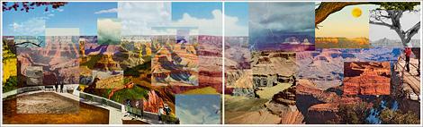 Postcard mashup