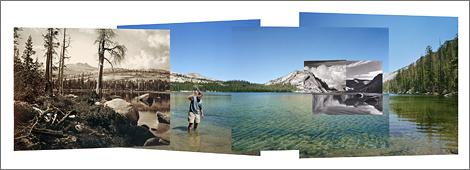 Lake Tenaya panorama
